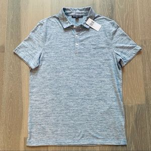 Michael Kors Heather Blue Polo in Size M